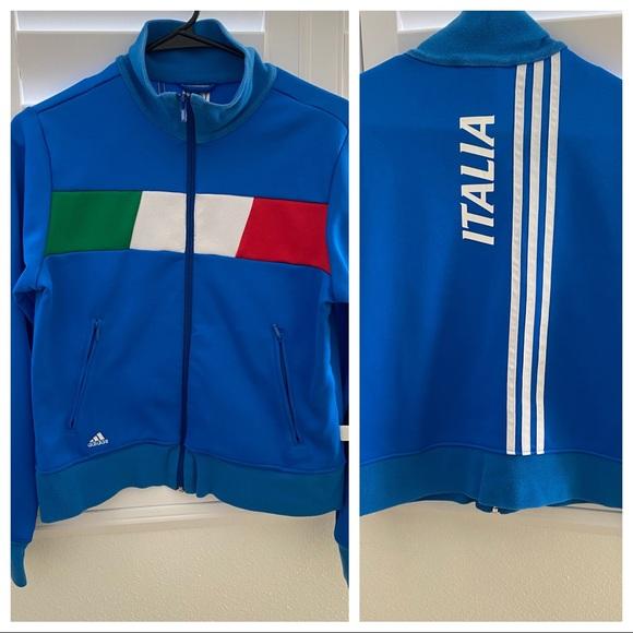 adidas italia jacke